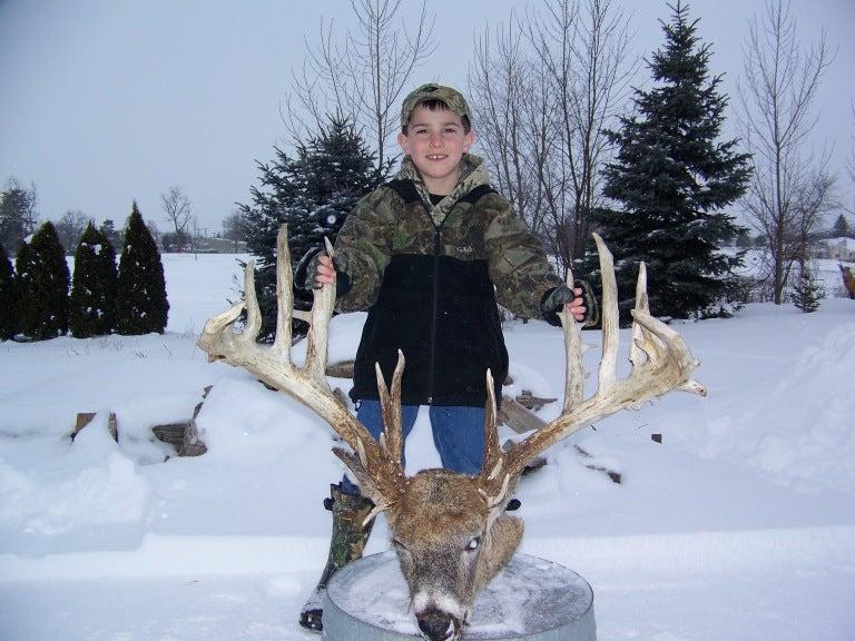 New Michigan Record Buck?