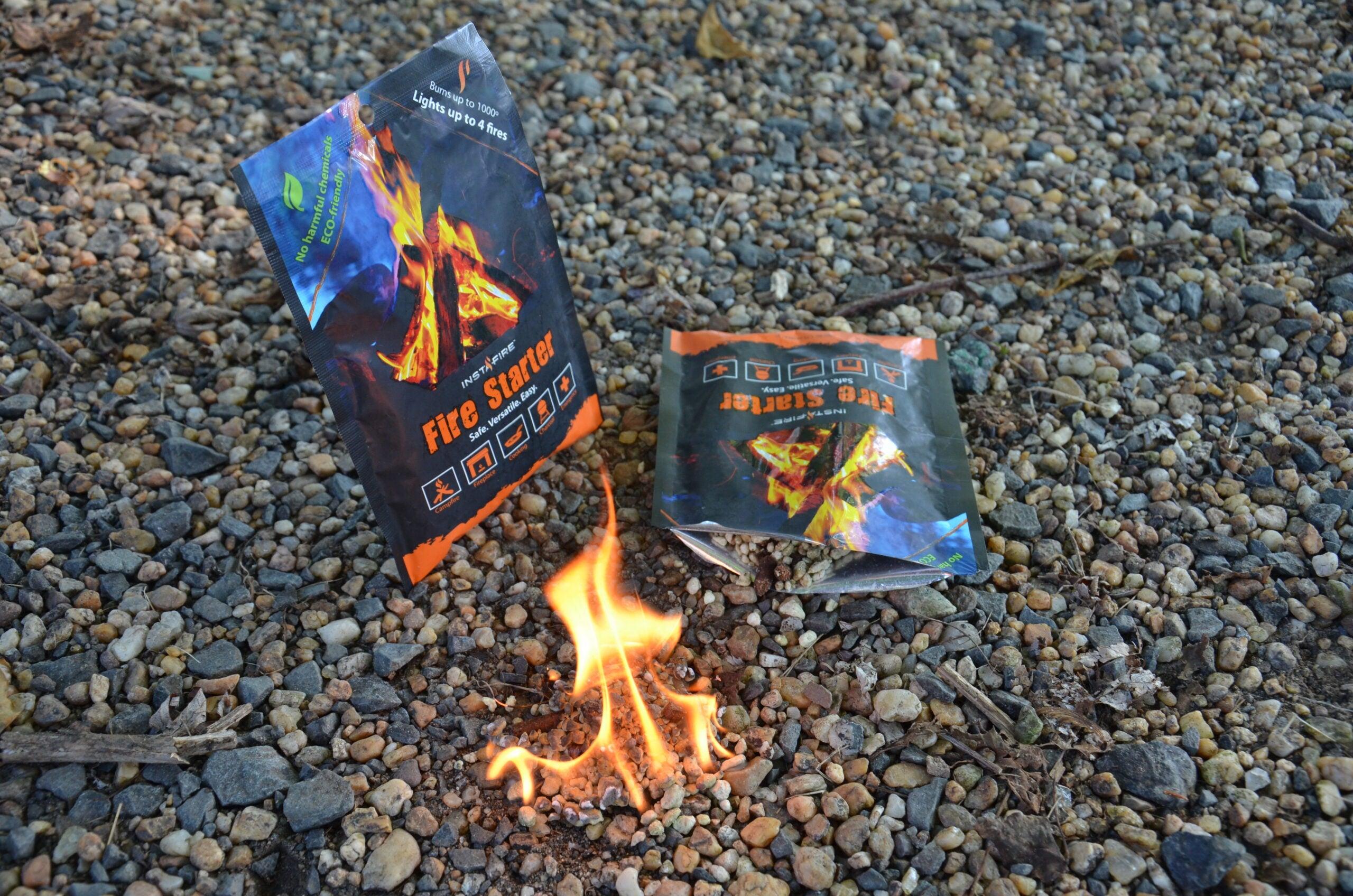Survival Gear Review: Instafire Fire Starter Granules