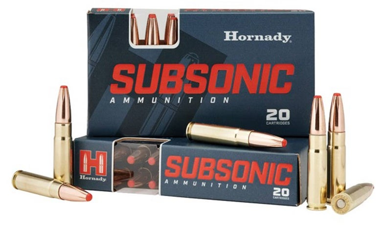 Hornady Subsonic .300 Blackout
