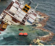 Waves Wreck Ship Carrying Powdered Milk Off New Zealand Coast