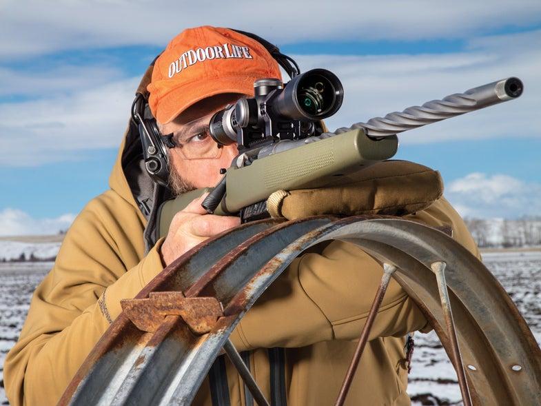 outdoor life gun tester with seekins precision havak pro hunter rifle