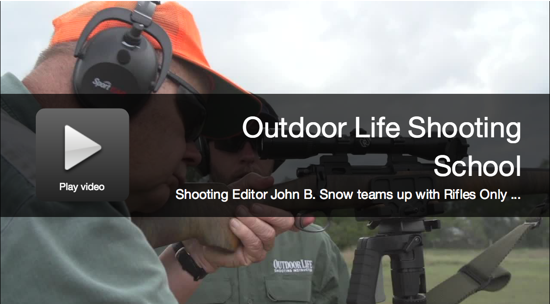 Outdoor Life Shooting School: Register for 2015 Sessions