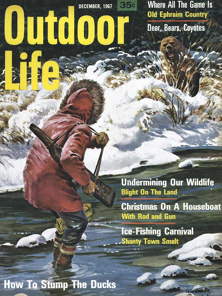December 1967 Cover of Outdoor Life