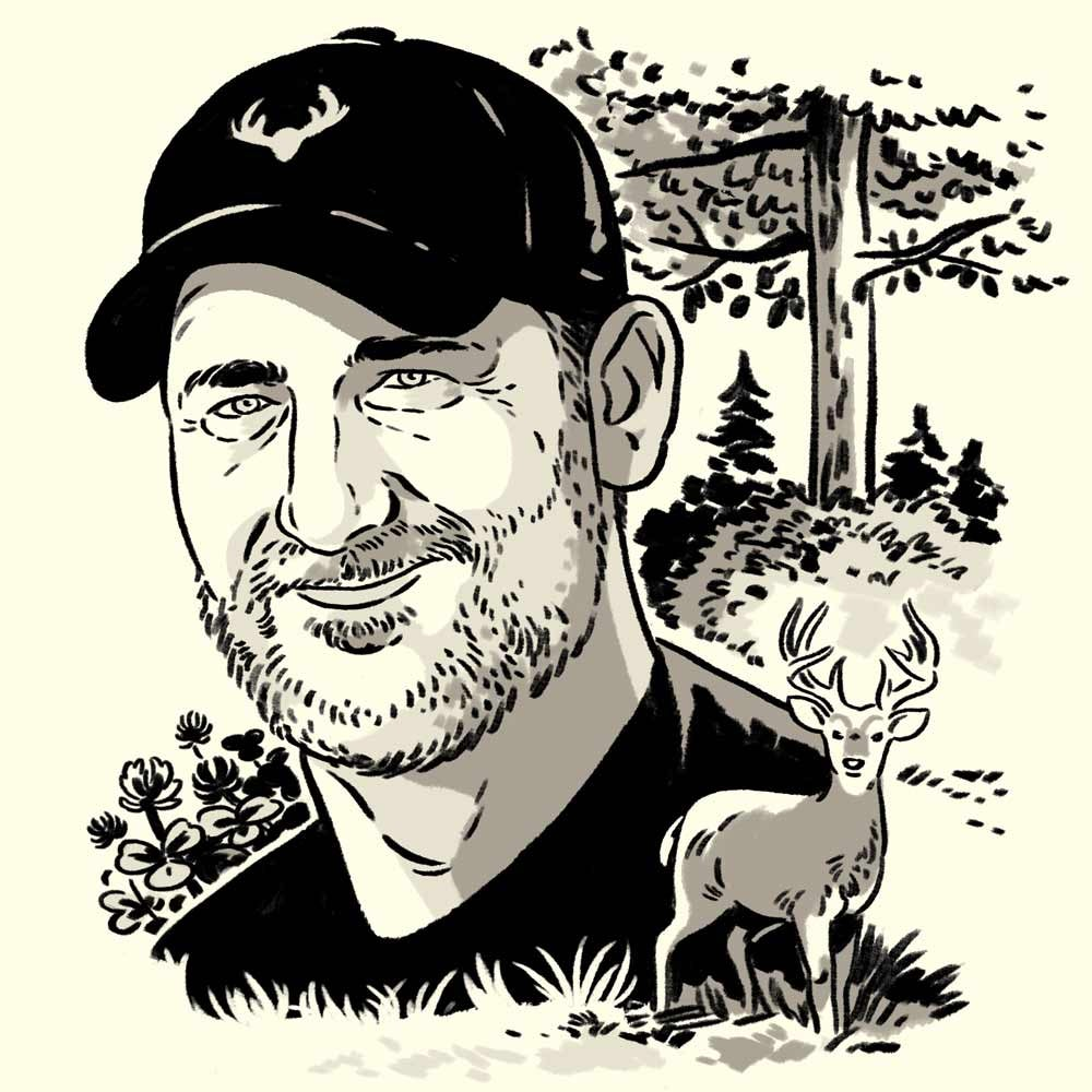 illustration of Will Brantley