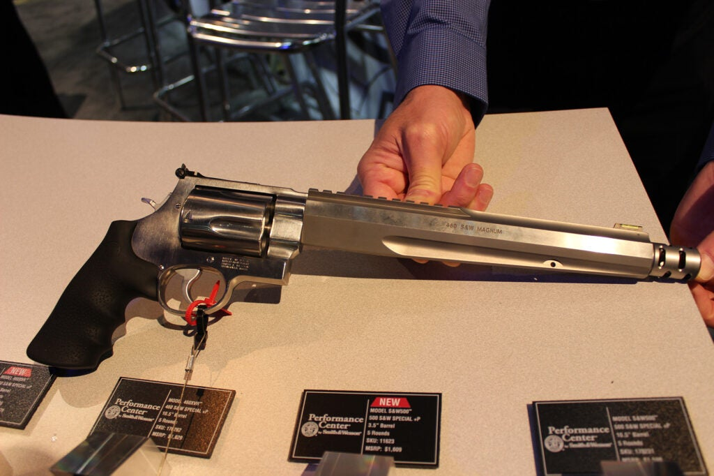 Smith and Wesson Performance Center: 460XVR