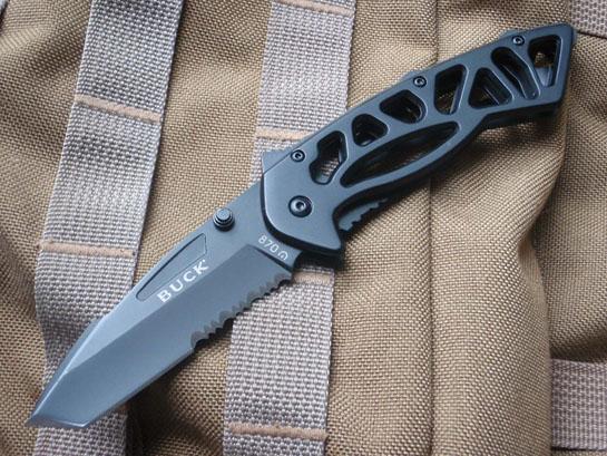 buck knife folder