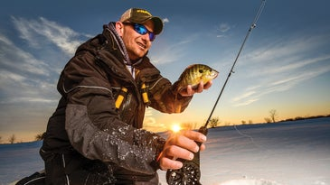 palm reels for icefishing