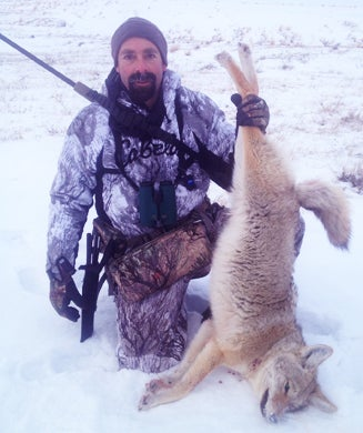 Coyote Hunting in Montana from a Wall Tent Basecamp