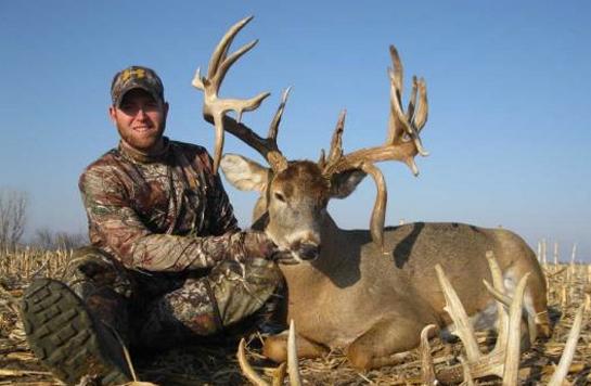 After Three-Year Wait, Hunter Takes 239-Inch Kansas Buck