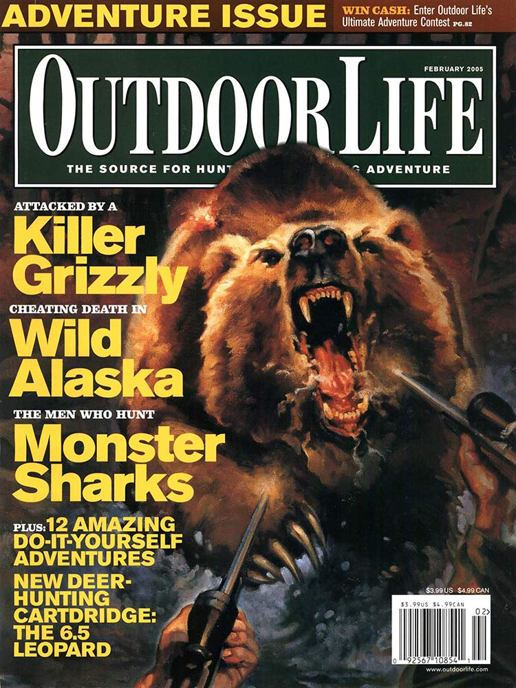 February 2005 Cover of Outdoor Life