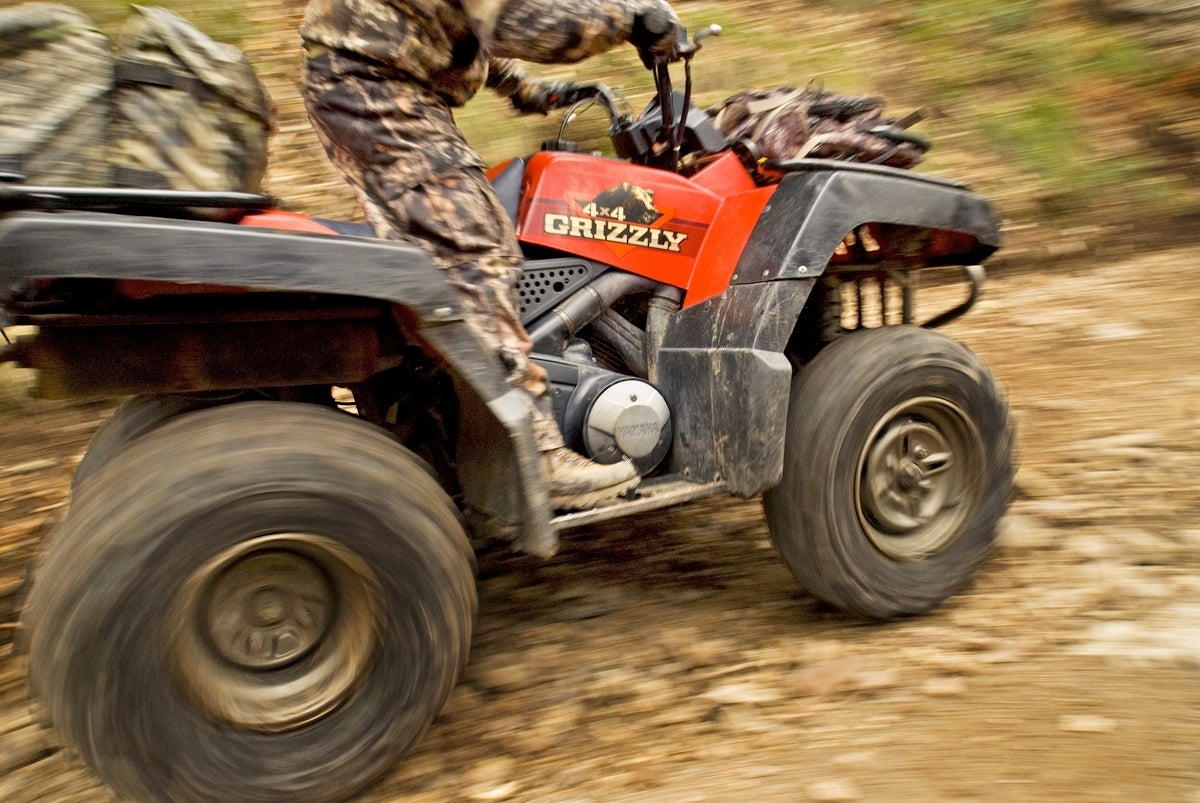 Offseason Tip: Condition Deer to Your ATV