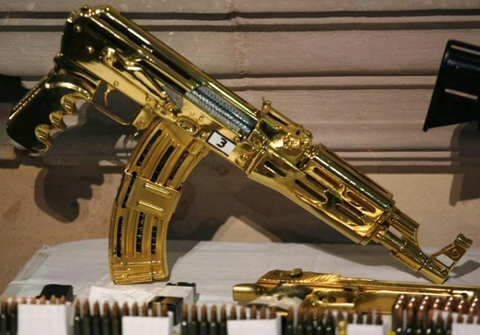 Gold-plated AK-47 (And Other Examples of Bespoke Taste in Narco-Guns)
