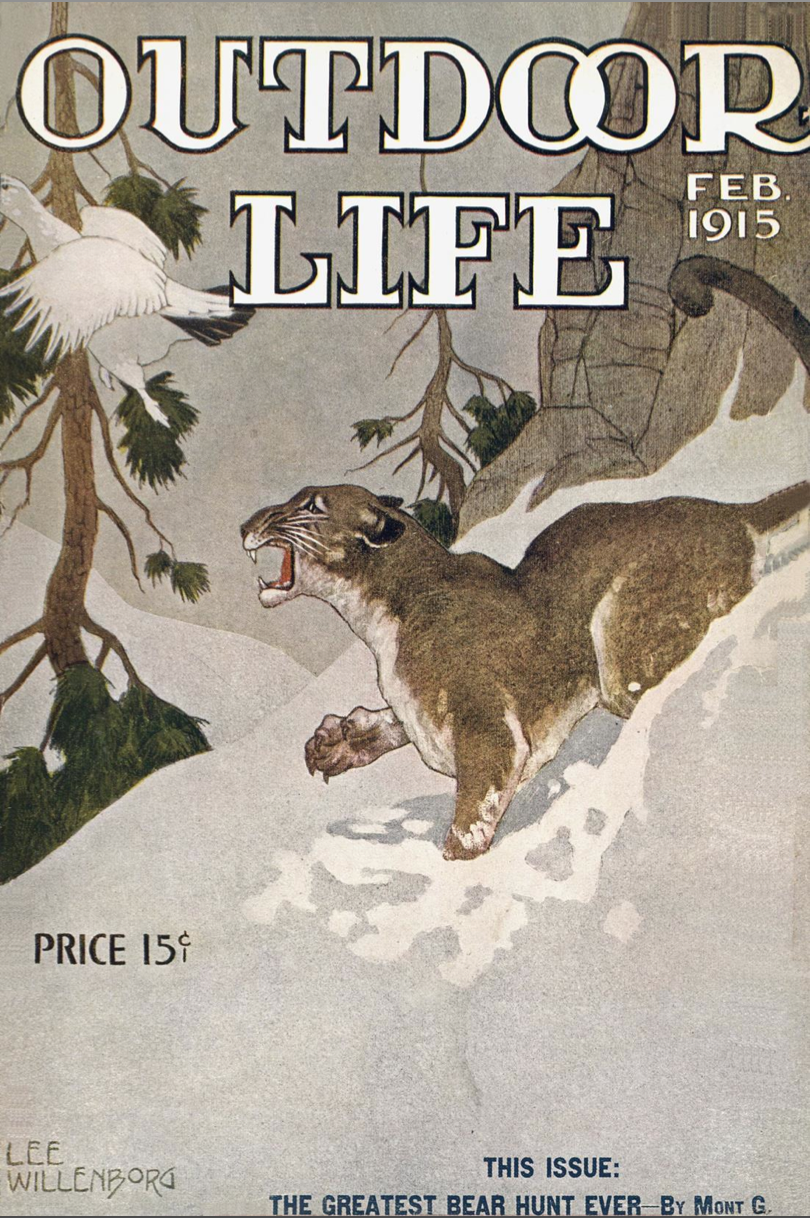 Outdoor Life Archives: February 1915