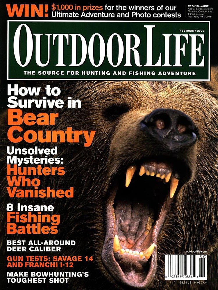 February 2006 Cover of Outdoor Life