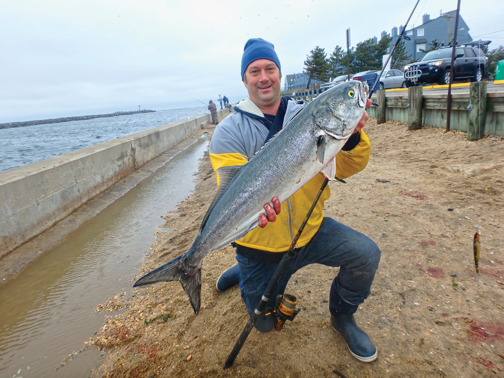 fall bluefishing