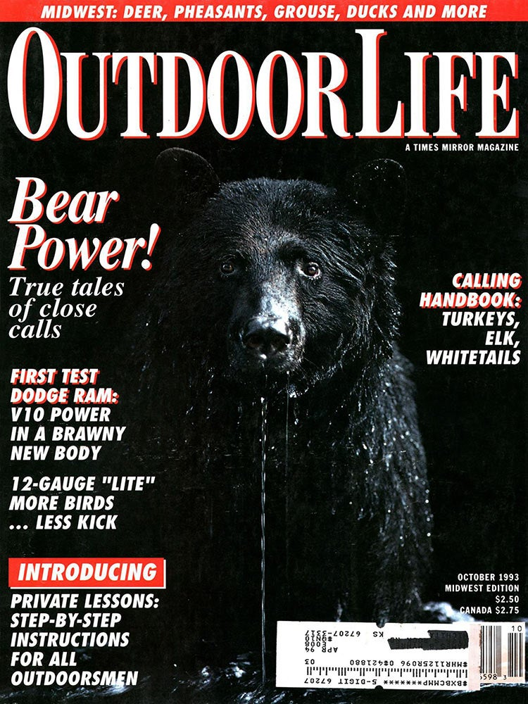 October 1993 Cover of Outdoor Life