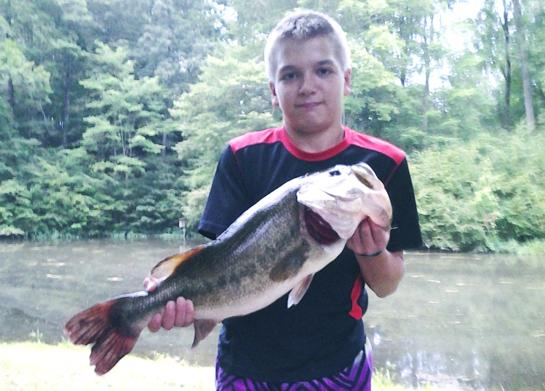 Kid Catches State Record Largemouth Bass in Maryland
