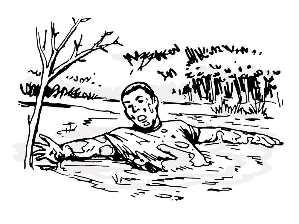 survival skill quicksand