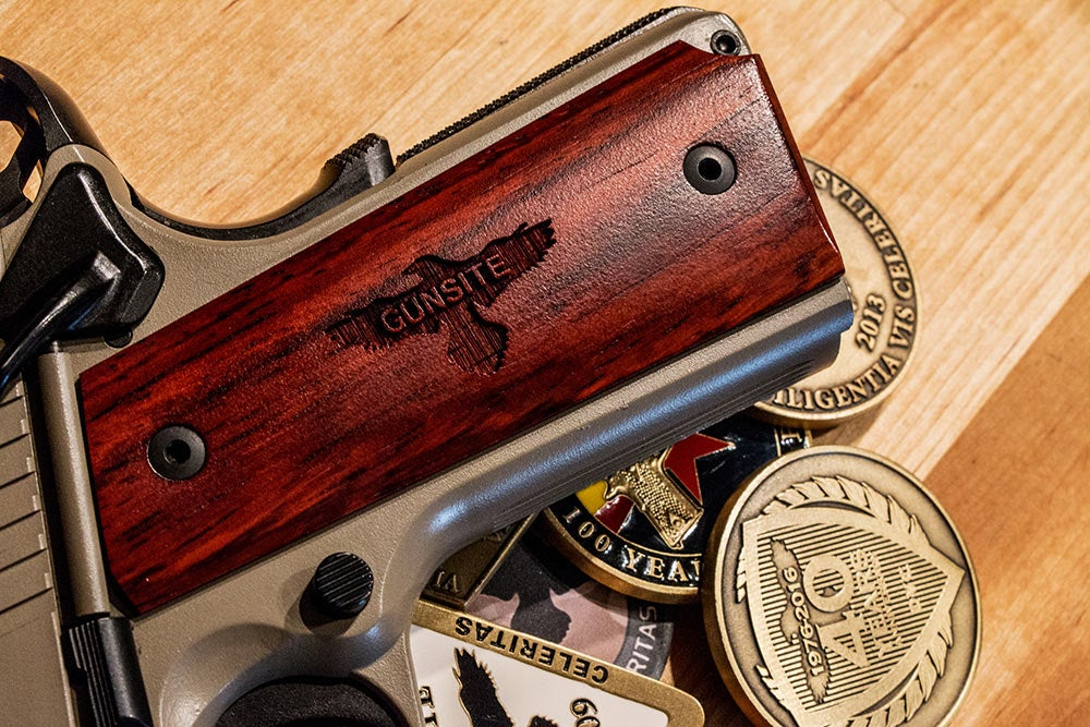 Gunsite ProShop custom handgun grip