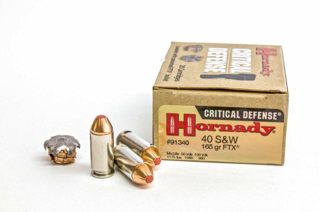 Hornady 165-grain Critical Defense
