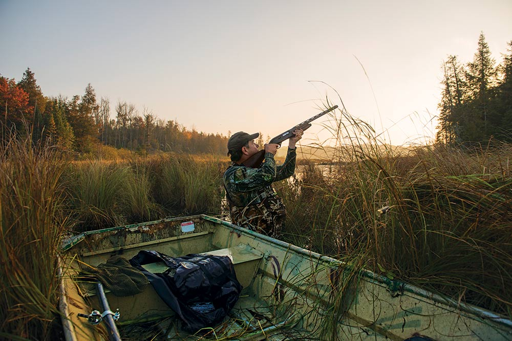 Wood duck hunting in wisconsin