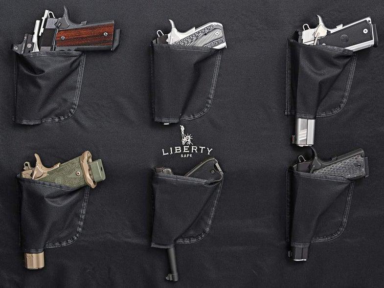 Gun safe door panel