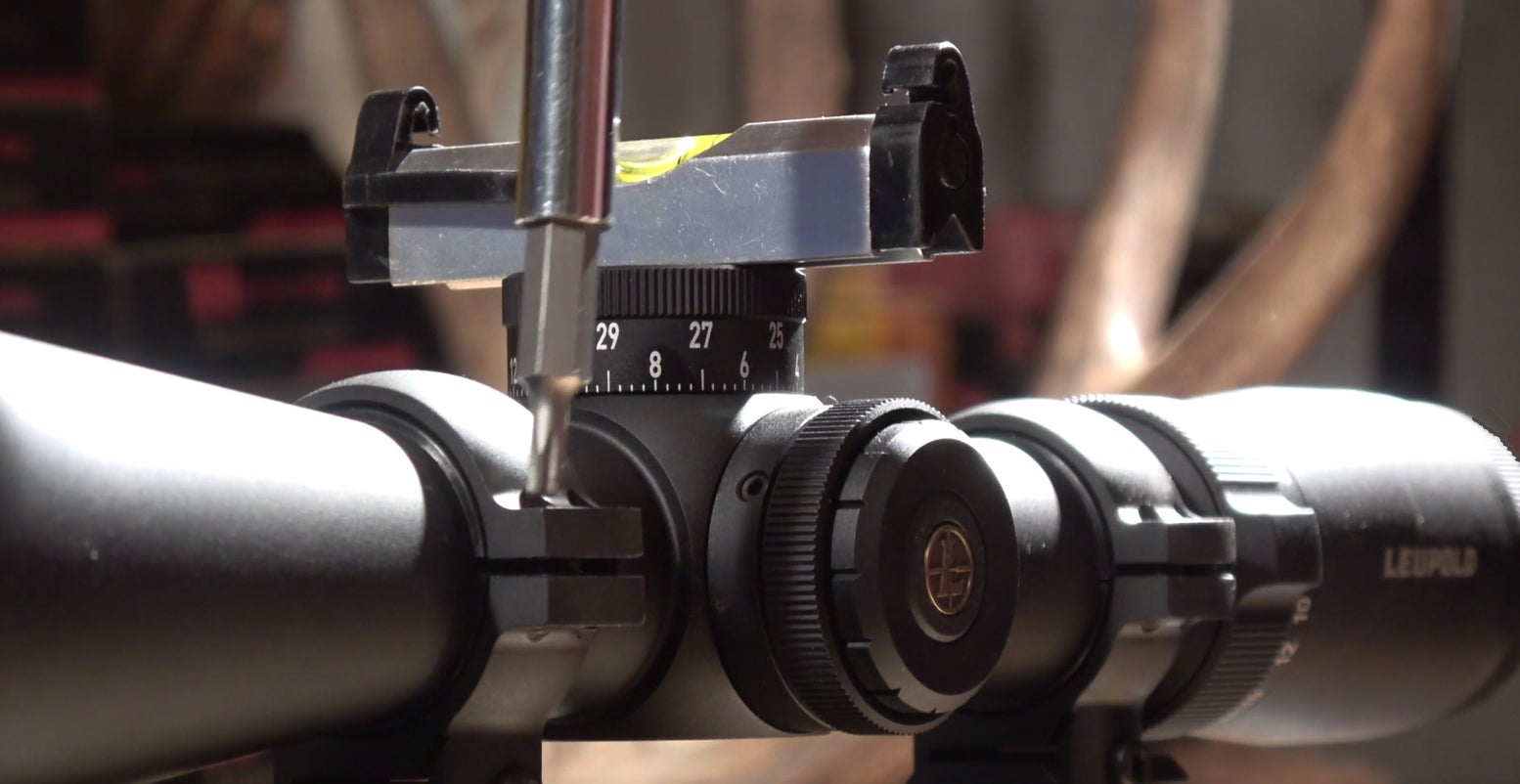 Video: How to Mount a Riflescope with Perfectly Vertical Crosshairs