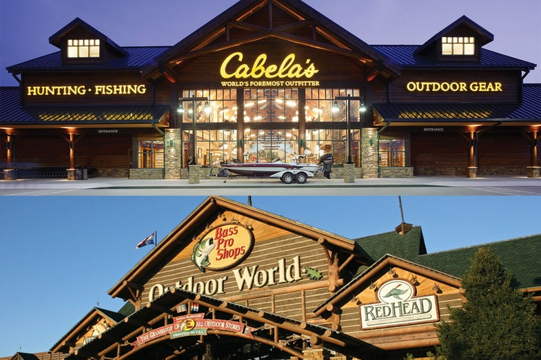 Cabelas and Bass Pro merger