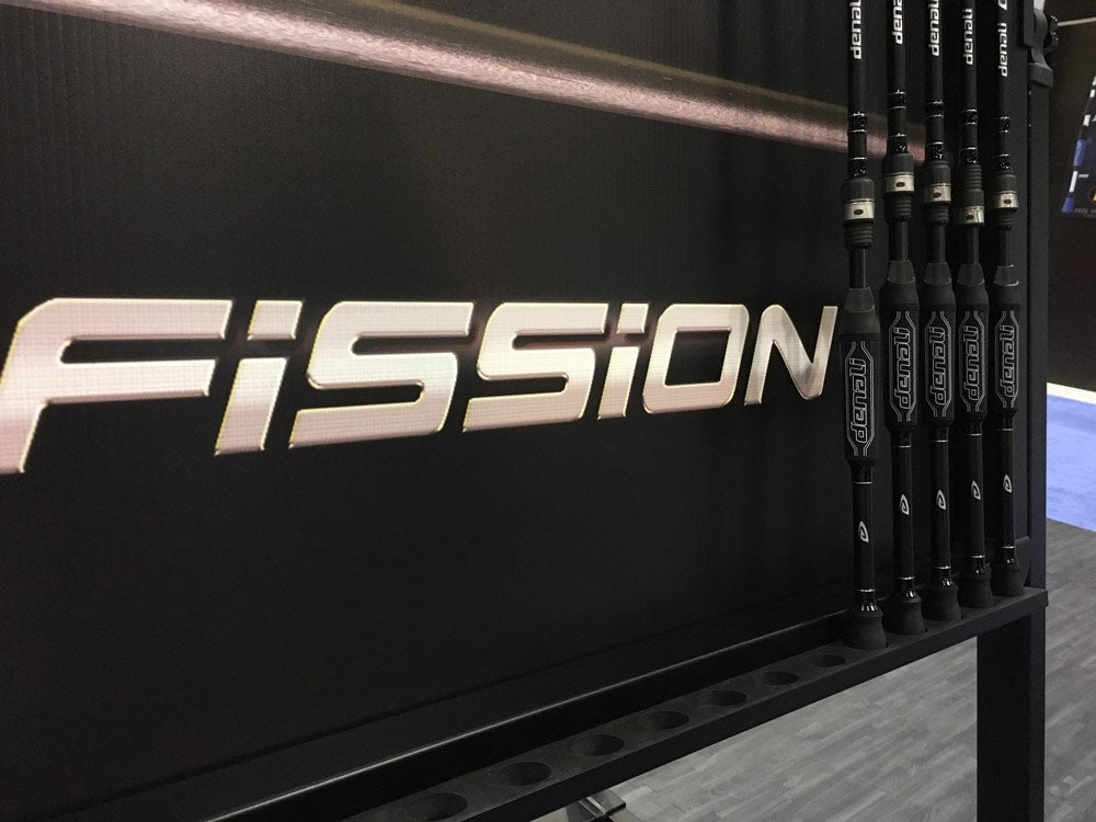 denali fission fishing rods