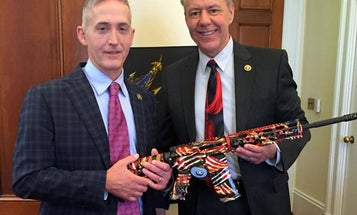 Gun Stories of the Week: Congressman's AR-15 Twitter Photo Sends Antis into Tizzy