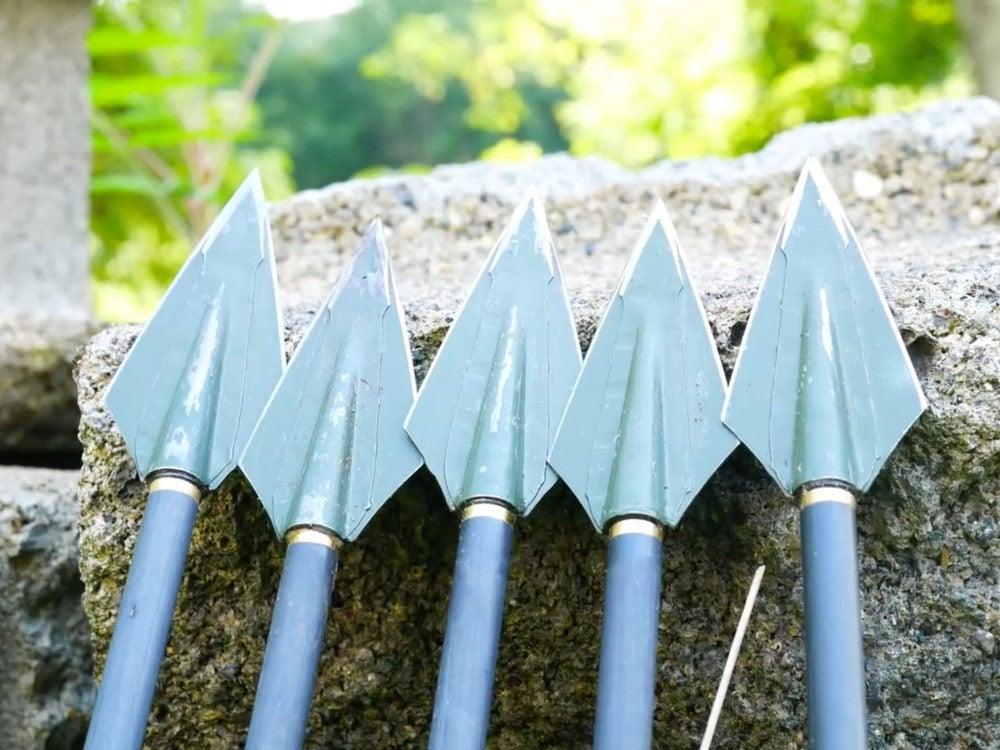 heavier hunting arrow heads