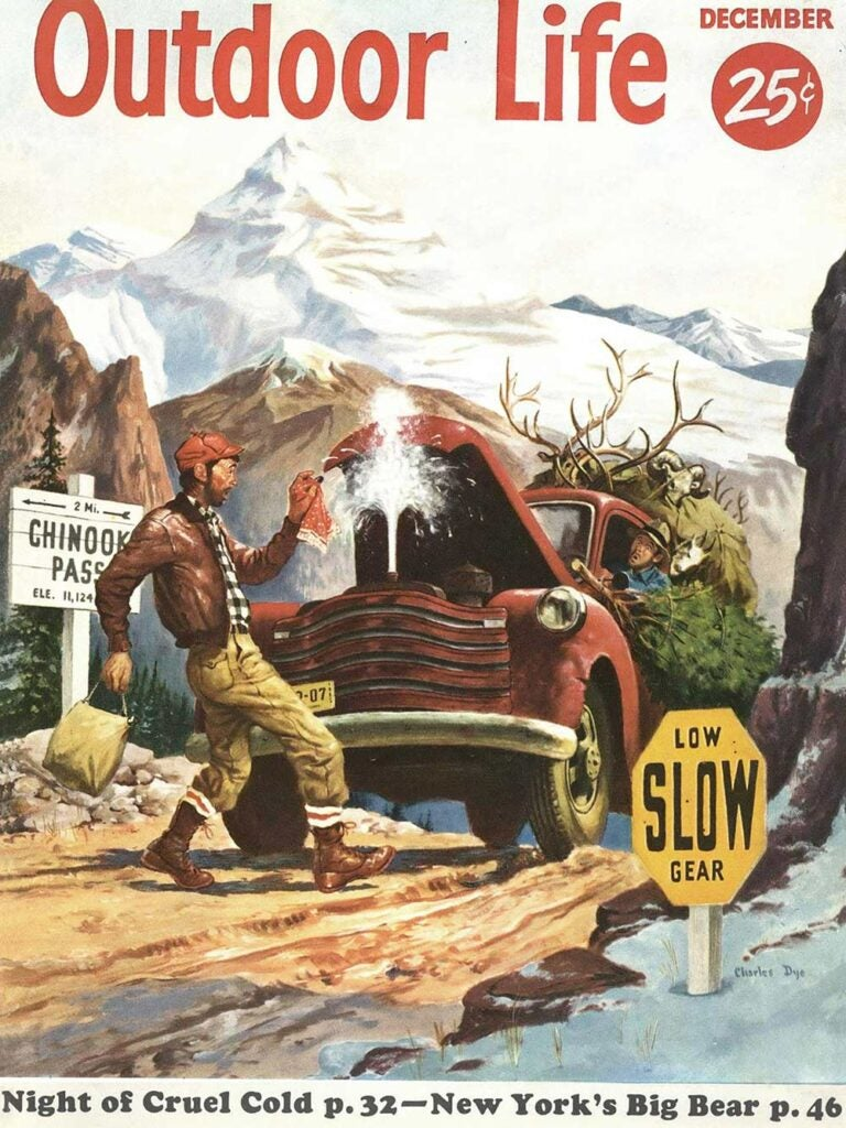 December 1955 Cover of Outdoor Life
