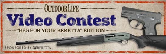 Video Contest: Win a Beretta A400 Unico and 9mm Nano