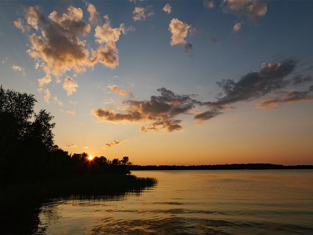 Lake Vermilion muskie fishing