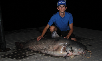 North Carolina Teen Lands State-Record Blue Catfish