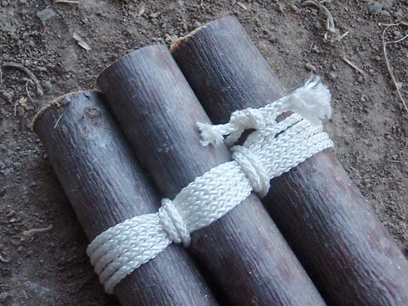 tripod lashing knot