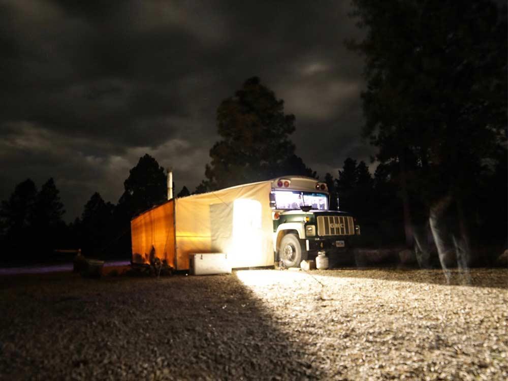 sam soholt open country bus elk camp