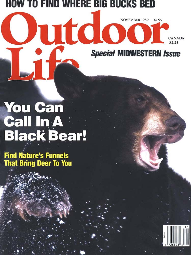 November 1989 Cover of Outdoor Life