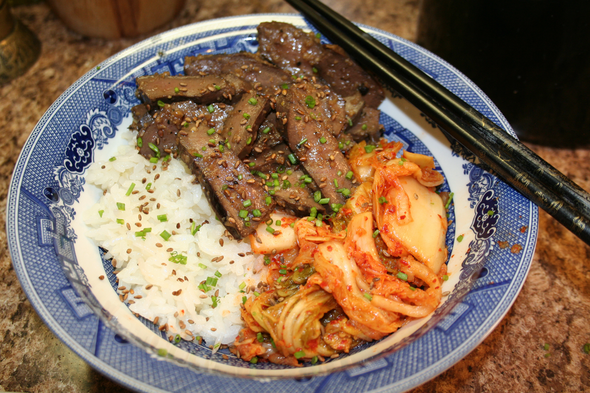 Korean Food Meets Wild Game: A Recipe for Elk Heart Bulgogi