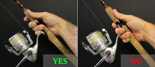 Fishing Basics: How to Hold a Spinning Rod