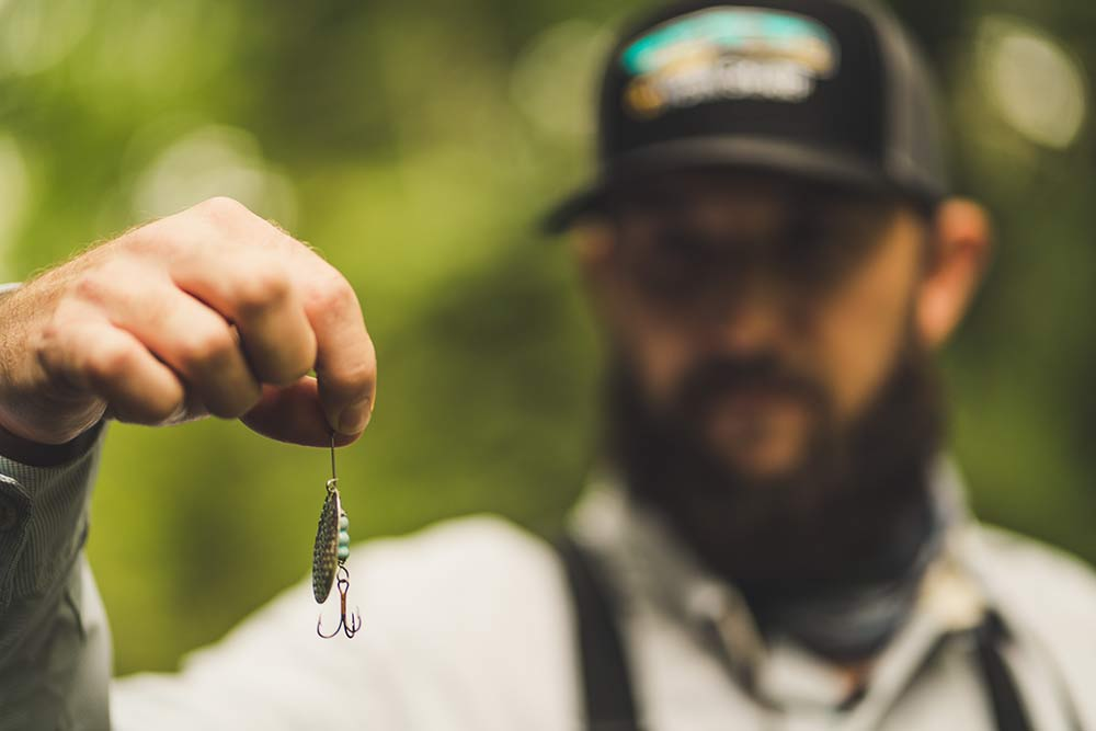 spinner lure for trout fishing