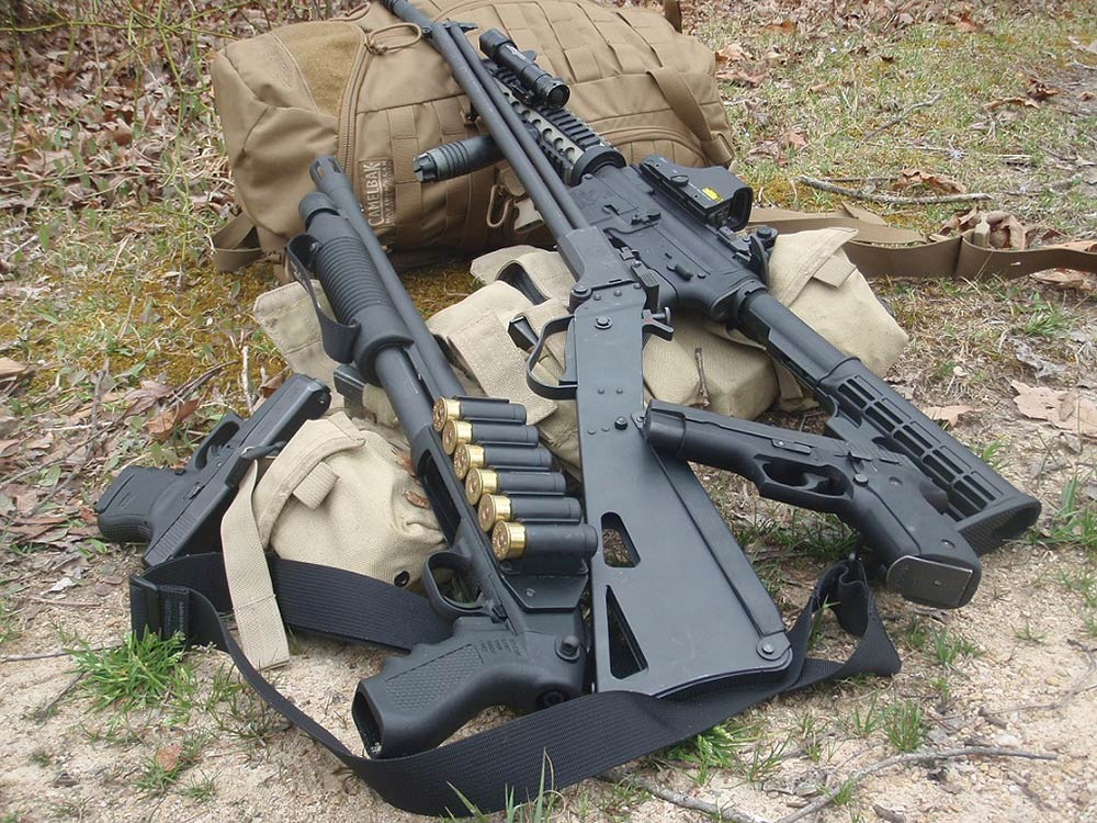 camp defense guns