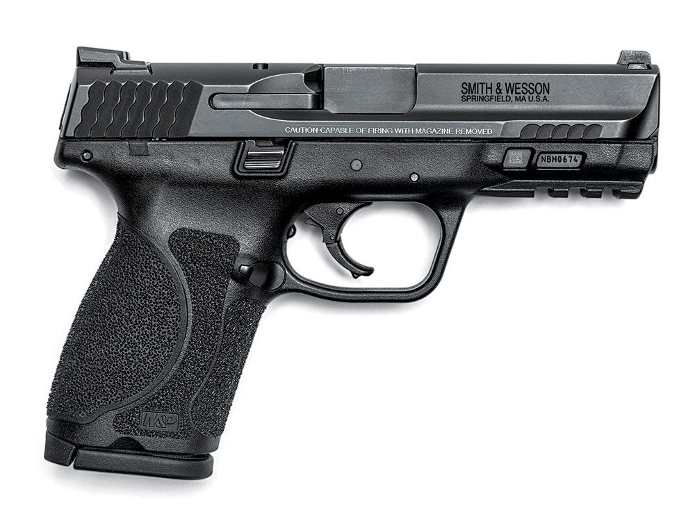 smith and wesson compact handgun