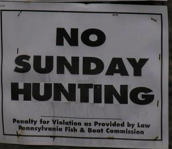 Pennsylvania is One Step Closer to Hunting on Sunday