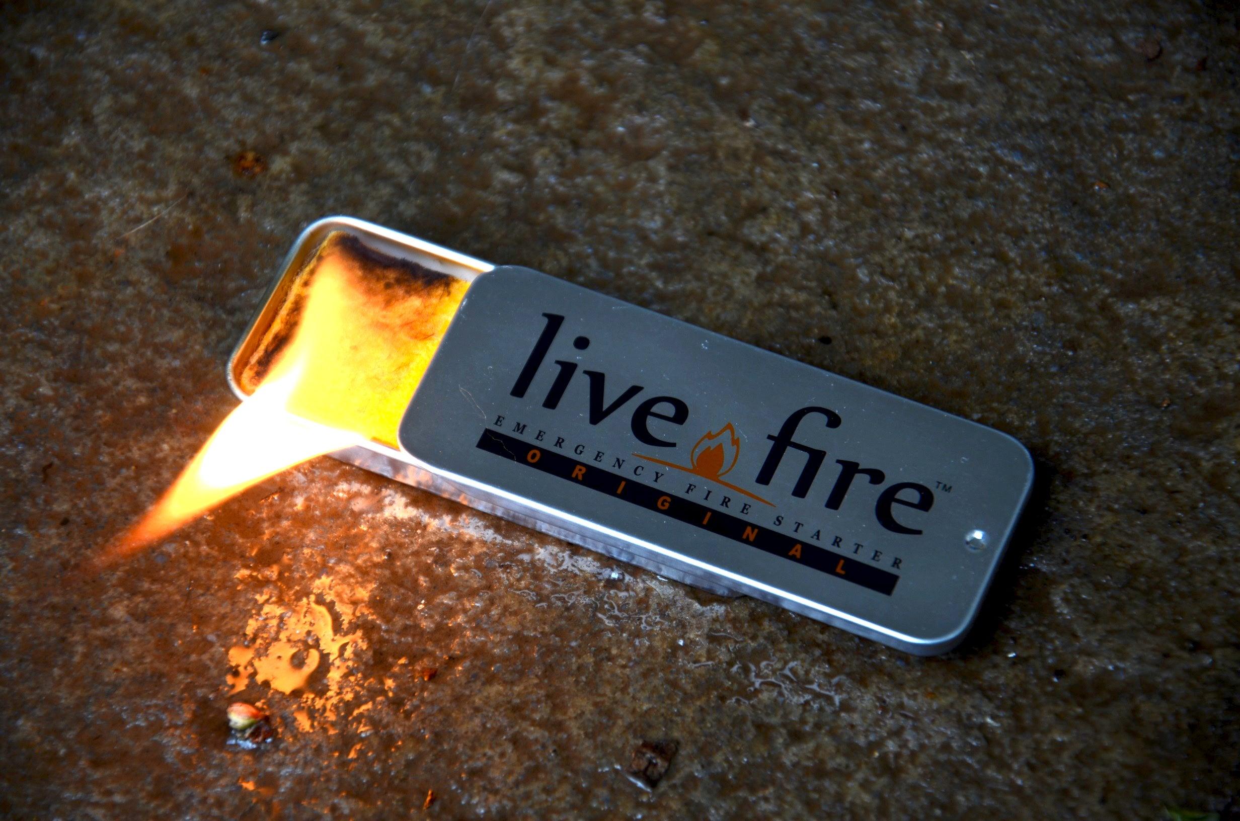 Survival Gear Review:  Live Fire Emergency Fire Starter