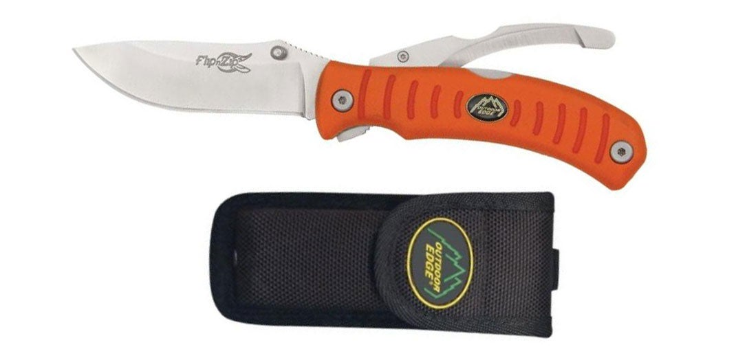 outdoor edge folding knife with case