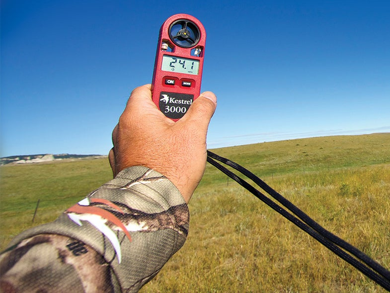 high wind readings in South Dakota