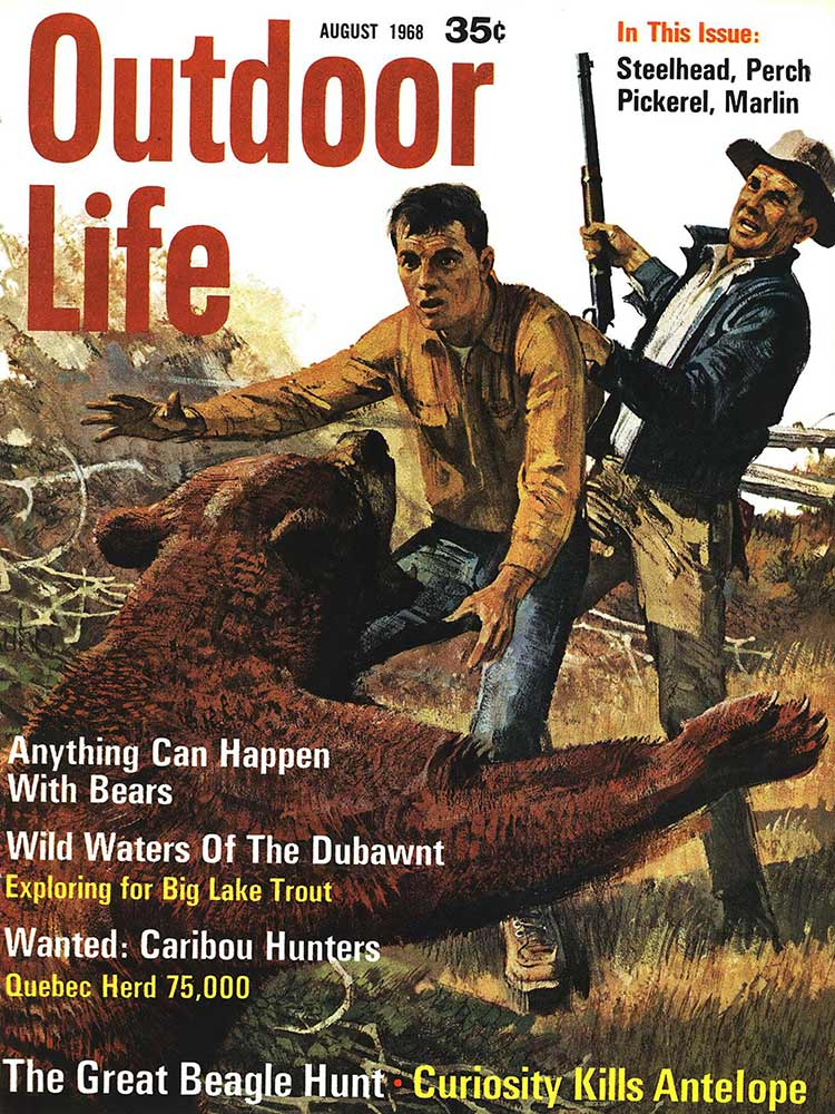 August 1968 Cover of Outdoor Life