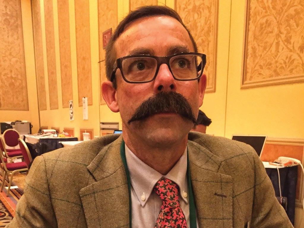 Andrew McKean mustache bet