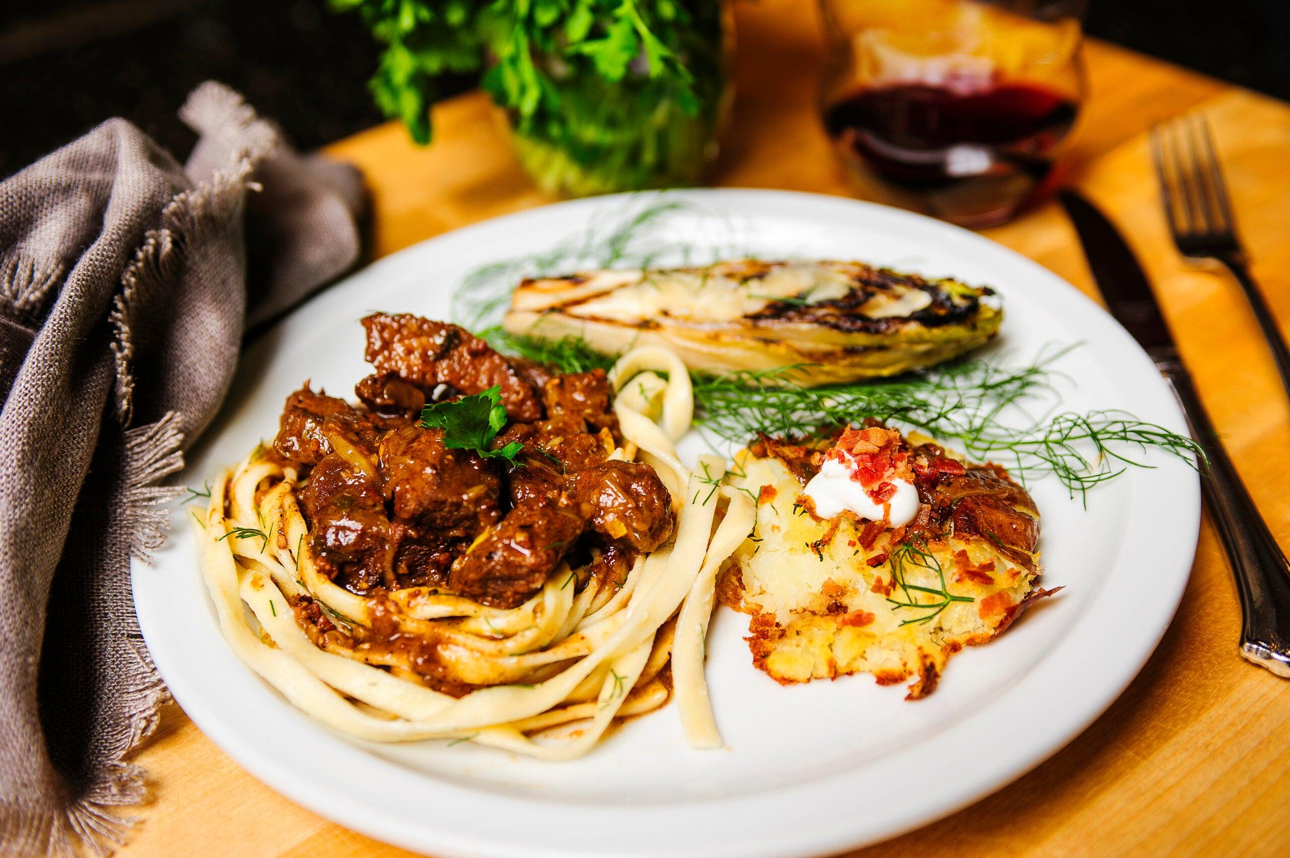 A Recipe for Belgian Carbonnade Using Freezer-Burned Elk Round Steak